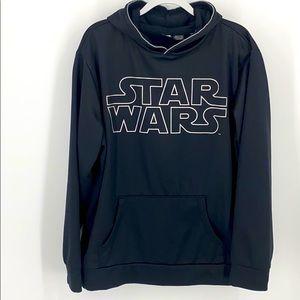 Star Wars Hoodies logo pull over SZ XL